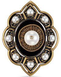 Gucci - Pin Cushion Motif Ring In Metal - Lyst