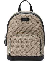 e3877134e9ea Gucci Nylon Guccissima Light Backpack in Blue - Lyst