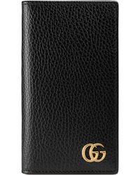 Gucci - Gg Marmont Iphone 7 Wallet Case - Lyst
