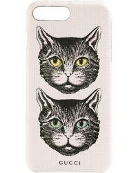 Gucci - Étui pour iPhone X/XS à motif Mystic Cat - Lyst