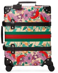 Gucci - Globe-trotter Carry-on With Floral Print - Lyst