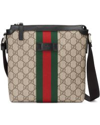 e80f8ab7e45459 Gucci Original Gg Canvas Messenger Bag in Natural for Men - Lyst