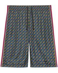 Gucci - Shorts aus Bi-Material - Lyst