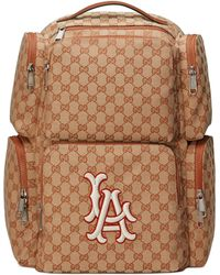 1e4ee10f0c772b Gucci - Large Backpack With La Angelstm Patch - Lyst