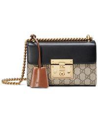 Gucci | Padlock GG Supreme Shoulder Bag | Lyst