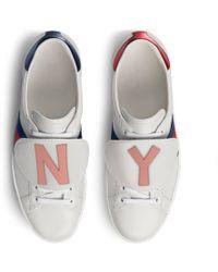 Gucci - Sneaker Ace DIY da uomo - Lyst