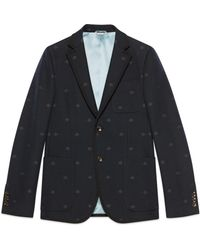 a761aafda Lyst - Gucci Heritage Jacket With Bees And Stars for Men