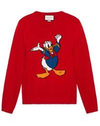 8b3ba476269 Lyst - Men s Gucci Donald Duck - Men s Gucci Donald Duck Collection