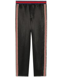 Gucci - Embroidered Acetate jogging Pant - Lyst