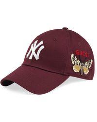 Gucci - Cappellino da baseball con patch NY YankeesTM - Lyst 0af5ba31c1eb