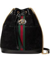 Gucci - Borsa a secchiello Rajah misura media - Lyst