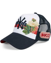 Gucci - Ny Yankeestm Patch Cap - Lyst