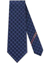 Gucci - Cravate au motif GG - Lyst