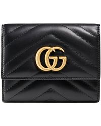 Gucci - Portefeuille GG Marmont - Lyst
