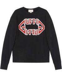 Gucci - Sweatshirt mit Logo-Print - Lyst