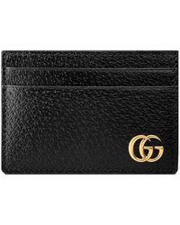 Gucci - Gg Marmont Leather Money Clip - Lyst