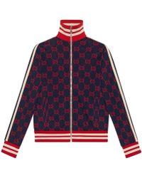 Gucci - Veste en coton jacquard GG - Lyst