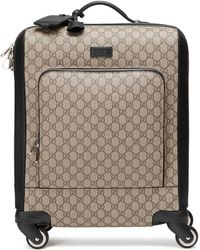 Gucci - Trolley in tessuto GG Supreme - Lyst