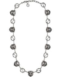 Gucci - Garden Halskette mit Felineköpfen - Lyst