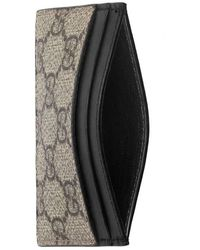 1a53d36daad Lyst - Gucci Tiger Printed Gg Supreme Classic Wallet in Natural for Men
