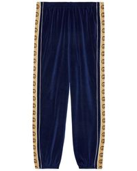 Gucci - Loose Chenille jogging Pant - Lyst