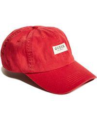 Guess | Logo Baseball Hat | Lyst