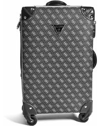 """Guess - Axworthy 20"""" Spinner Suitcase - Lyst"""