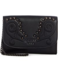 Guess - In Love Double Date Small Wallet - Lyst