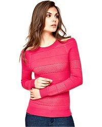 Guess - Betty Cold-shoulder Sweater - Lyst