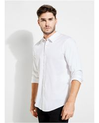 Guess - Luxe Stretch Shirt - Lyst