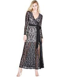 Guess - Leah Lace Maxi Dress - Lyst
