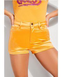 Guess - Jamaica High-waist Shorts - Lyst