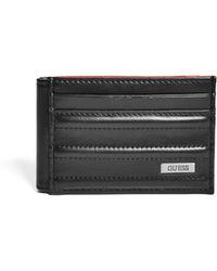 Guess - Slim Pintuck Magnetic Wallet - Lyst