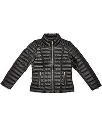 Guess - Faux-leather Puffer Jacket (7-16) - Lyst