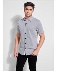 Guess - Miller Geo Print Shirt - Lyst