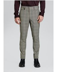 Guess - Event Plaid Chino Pant - Lyst