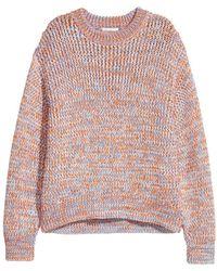 H&M - Chunky-knit Jumper - Lyst
