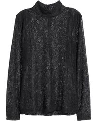 H&M   Polo-neck Jumper   Lyst