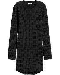 H&M - Textured-knit Jumper - Lyst