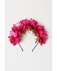 H&M - Hairband With Flowers - Lyst