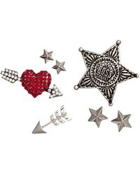 H&M - 7-pack Brooches - Lyst