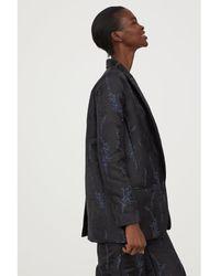 H&M - Jacquard-patterned Jacket - Lyst