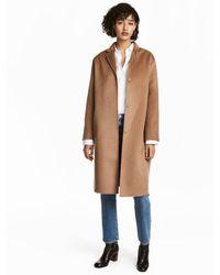 H&M - Cashmere-blend Coat - Lyst