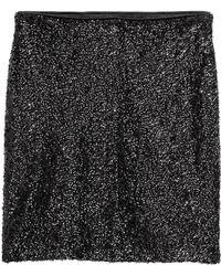 H&M - Sequined Skirt - Lyst