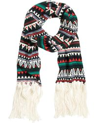 H&M - Jacquard-knit Scarf - Lyst