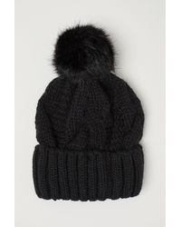 H&M - Cable-knit Hat - Lyst