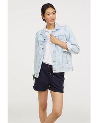 H&M - Sweatshirt Shorts - Lyst
