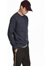 H&M - Fine-knit Cotton Sweater - Lyst