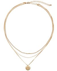 H&M | Three-strand Necklace | Lyst