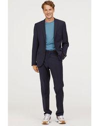 H&M - Suit Trousers Regular Fit - Lyst
